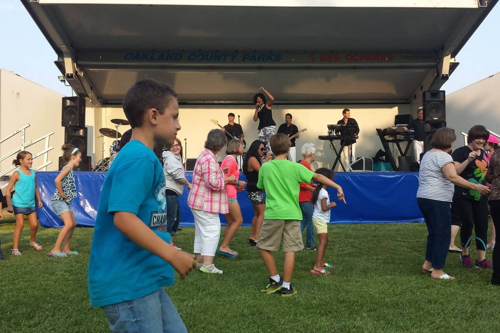 Summer Concert Series At The Amphitheater