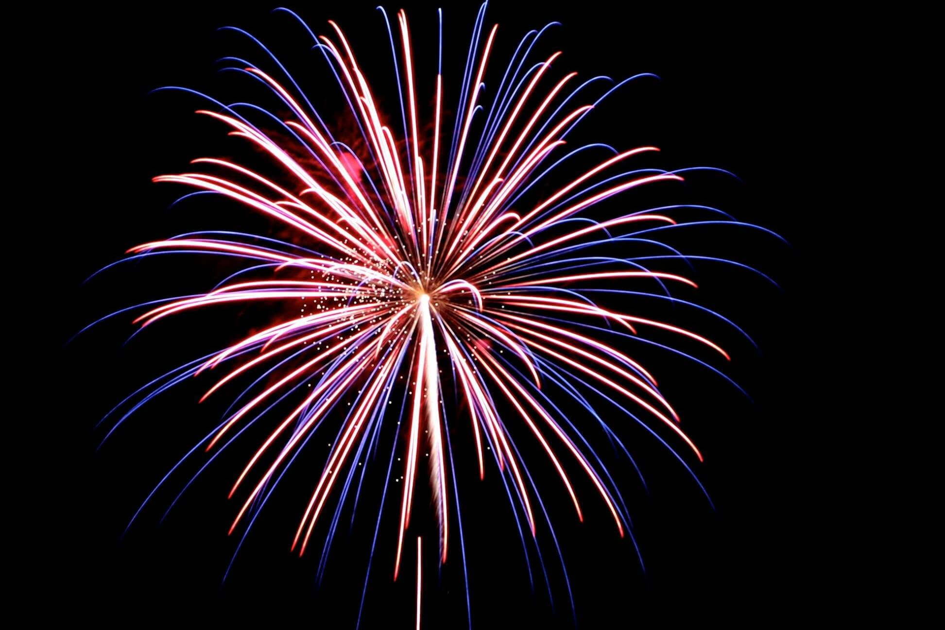 Fireworks At Willow Metropark