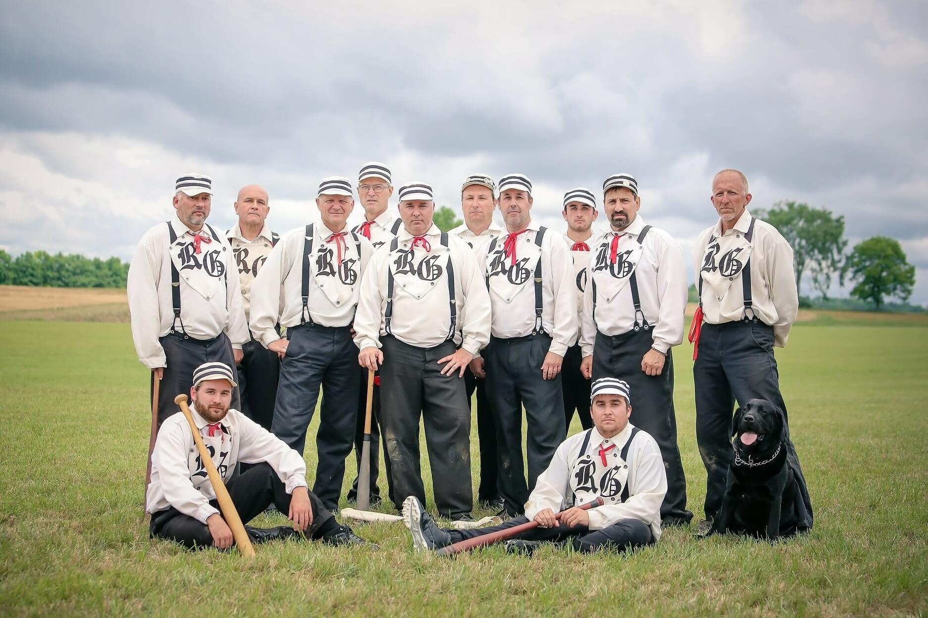 Rochester Grangers Vintage Base Ball Matches