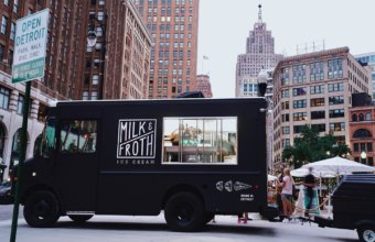 From Food Truck To Storefront: Check Out The NEW Ice Cream Parlor In Downtown Detroit