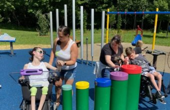 New All-Inclusive Playground Opens At River Bends Park In Macomb