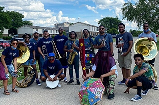 Tunes On The Terrace: Gabriel Brass Band