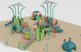 New All-Inclusive Playground Planned For Burke Park In New Baltimore