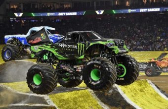 Monster Jam Returns To Ford Field For An Action-Packed Weekend Of Family Fun