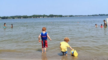 Lakeshore Park Is The Perfect Beach For Metro Detroit Families