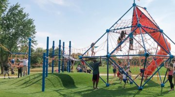 Best Playgrounds For Kids Who Love To Climb In Metro Detroit