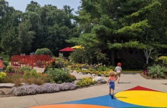 Explore The Gardens + Canopy Walk At Dow Gardens This Summer