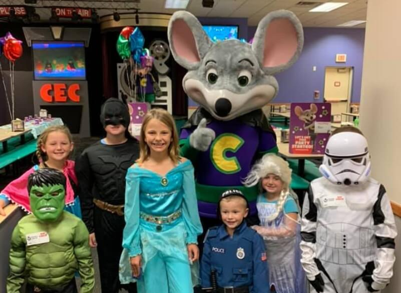 Chuck E. Cheese Halloween Weekend Costume Contests