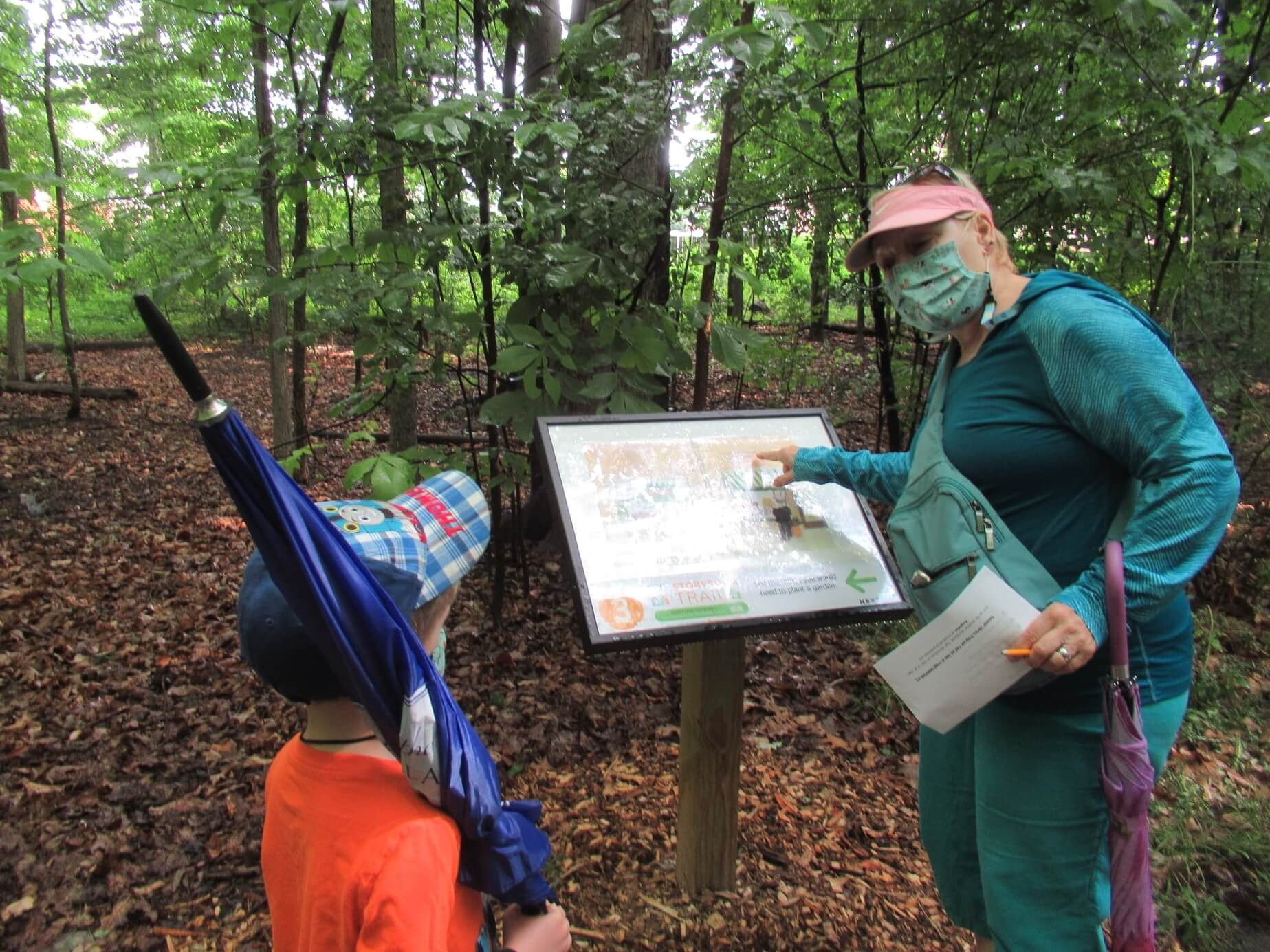 Spooky Storybook Trail