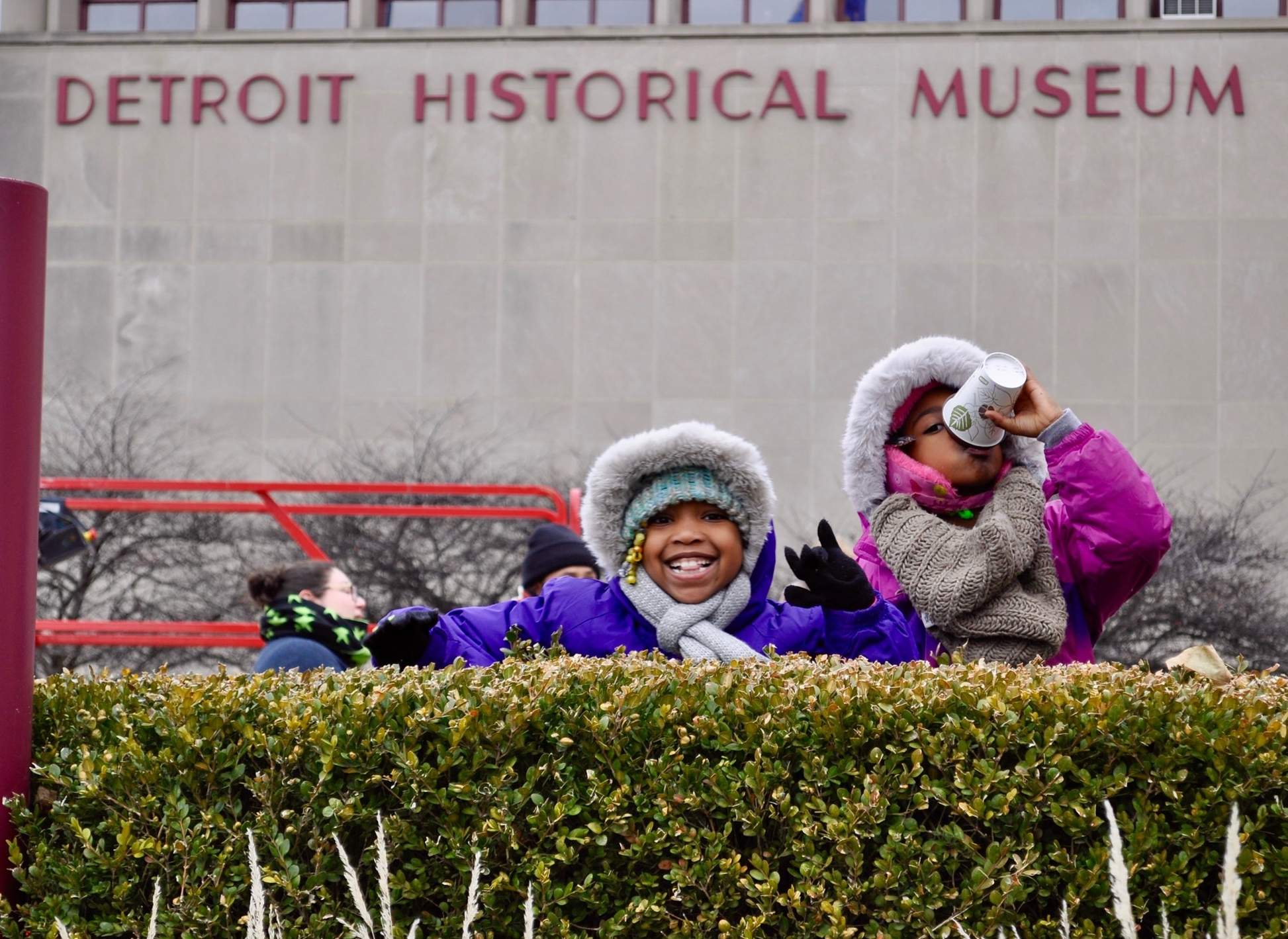 Thanksgiving Day Parade At The Detroit Historical Museum
